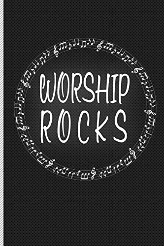 Worship Rocks: Blank Line Journal