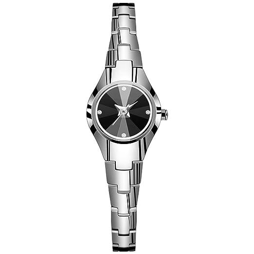 Reloj de Pulsera de Moda para Mujer Reloj de Pulsera Impermeable para Mujer Reloj de Pulsera para Mujer Pequeño Reloj de Pulsera de Cuarzo para Mujer (Color ...