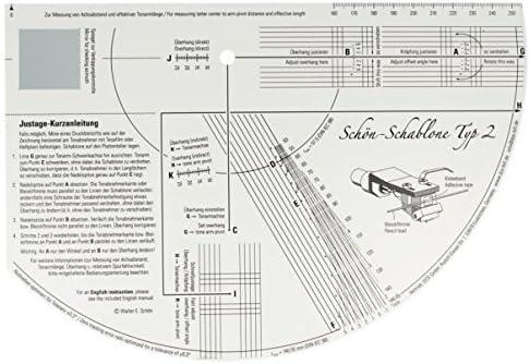 Schön - Plantilla para tocadiscos: Amazon.es: Electrónica