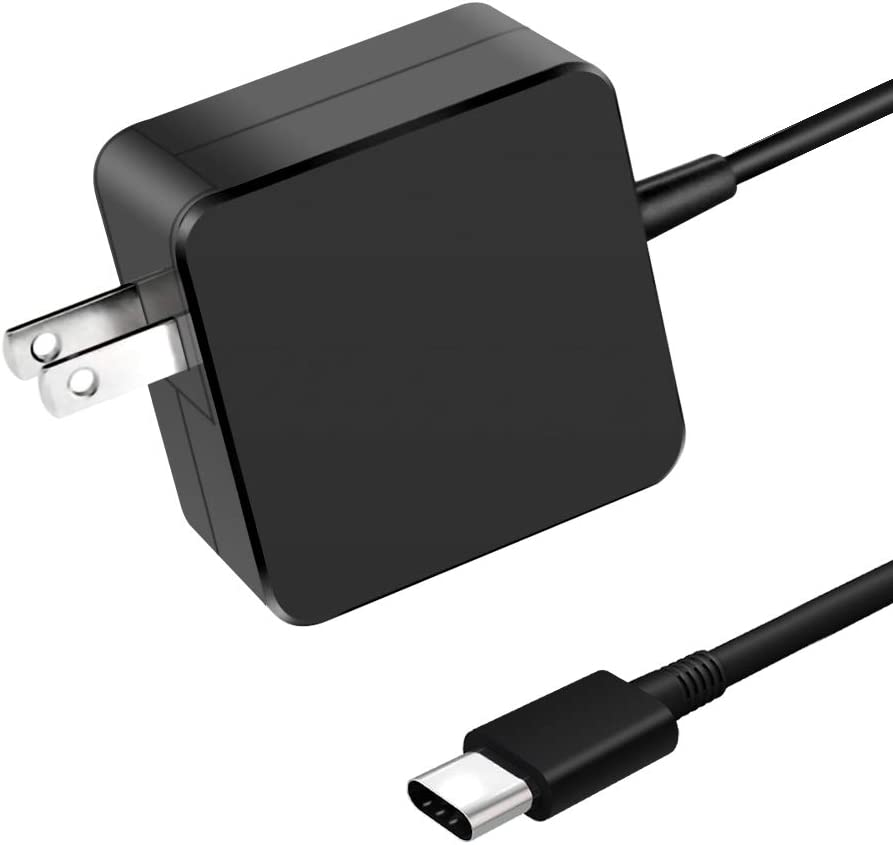 USB-C Charger, 87W/90W Type C Power Adapter Laptop Charger(Automatically Compatible with Almost All USB Type C Device) for MacBook/Pro Lenovo, ASUS, HP Spectre, Acer, Dell, LG, Samsung