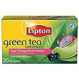 Lipton Green Tea- Choose your Flavour (Acai Dragonfruit Melon, 1 Pack)