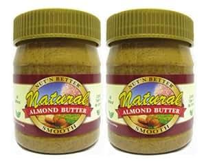 Nut'n Better Natural Almond Butter, 12 oz.