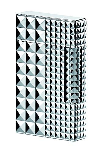 S.T. Dupont Palladium Line 2 Lighter - Diamond heads by S.T. Dupont