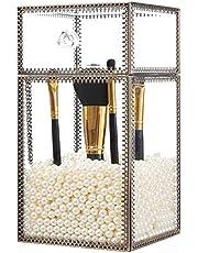 PuTwo Rangement Maquillage pour Pinceux Organisateur Maquillage Style Classique Motif Dentelle