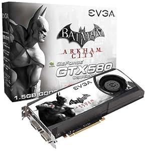 EVGA 015-P3-1582-E1 NVIDIA GeForce GTX 580 1.5GB - Tarjeta gráfica (NVIDIA, GeForce GTX 580, 2560 x 1600 Pixeles, 1,5 GB, GDDR5-SDRAM, 384 Bit)