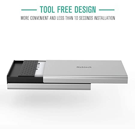 Amazon.com: Nekteck Aluminum USB C Hard Drive Enclosure SATA ...