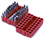 Rolson Screwdriver Bit Set - 33 Pieces
