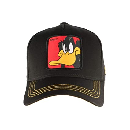 Capslab Gorras Looney Tunes Daffy Duck Black Yellow Adjustable  Amazon.es   Ropa y accesorios abe95426632