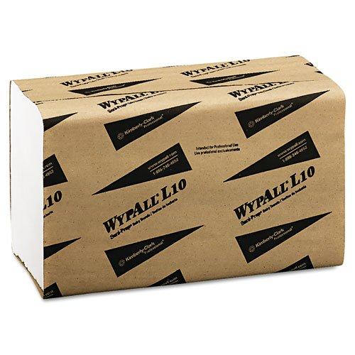 KCC01770 - Wypall L10 Sani-prep Dairy Towels, S-fold, 10.5 X 9.3