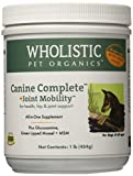 Wholistic Pet Organics Canine Complete Plus Joint Mobility with Green Lipped Muscle Supplement, 1 lb