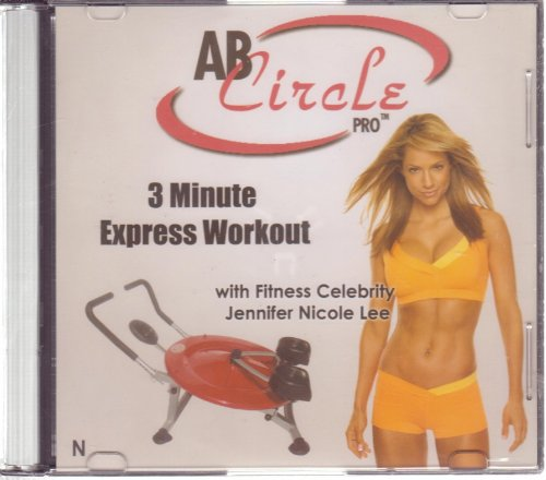 Used, Ab Circle Pro: 3 Minute Express Workout, Jennifer Cole for sale  Delivered anywhere in USA