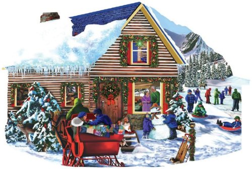 Snowbound 1000 pc Jigsaw Puzzle