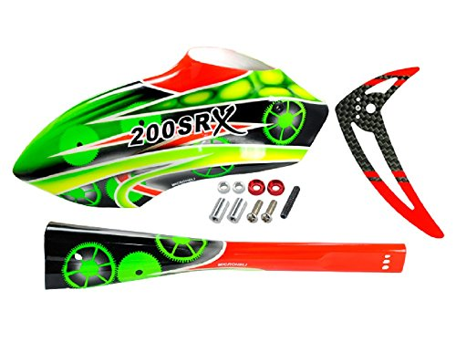 rs Fuselage: Blade 200 SRX (Green Fuselage)