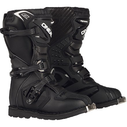 (O'Neal 2017 Youth Rider Boots (12) (BLACK))