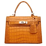Women Handbag,Women Bag, KINGH Vintage PU Leather Bag Platinum Bag 151 Brown