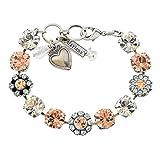 "Mariana ""Moon Dance"" Silver Plated Tennis Bracelet, 8"" 4084 1075"