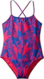 Vilebrequin Kids Girl's Cockatoo Print Swimsuit (Big Kids) Navy Swimsuit