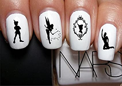 Amazon.com  Nail Decals x 20 nail art set waterslide nail decals ... 7a631adaf3e9