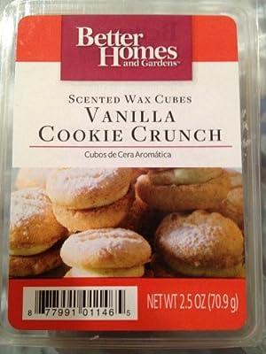 Better Homes and Gardens Vanilla Cookie Crunch Wax Cubes (Choose Size Below)