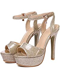 Amazon.com  Gold - Sandals   Shoes  Clothing d99088308774