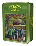 MasterPieces John Deere Ride Along - Model D Tractor 1000 Piece Tin Box Jigsaw Puzzle by Kevin Daniel