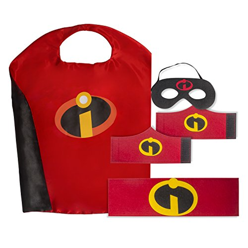 Kid's, Boy's and Girl's SuperHero Costumes Multi-Pack with 5 Pieces. 5 Piece Set