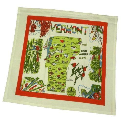 Vermont State Souvenir Dish Towel