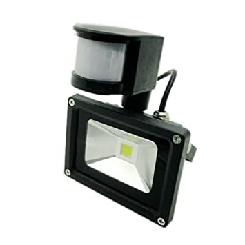 Giw 10 W con Sensor de movimiento, foco LED luces, 50 W equivale a