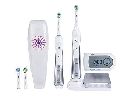 Oral-B Triumph 5000 - Cepillo de dientes eléctrico (2 piezas) Rosa,