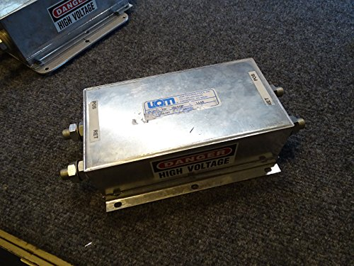 Uqm High Voltage Inline Emi 40 400 Filter Electric Hybrid 400A   400V