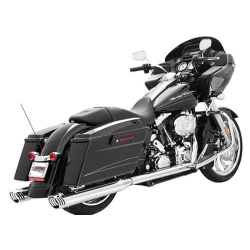 (Freedom HD00220 Exhaust (Racing True Dual Sf Chrome Tip 4