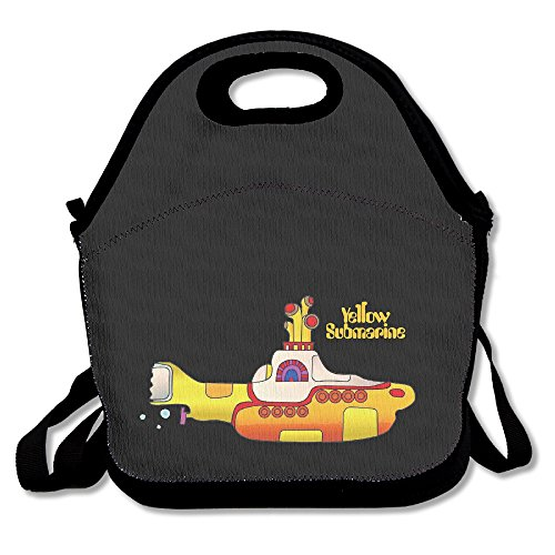 Beatles Yellow Submarine Lunch Box Bag For Kids Adult Men Women Girl Boy,lunch Tote Lunch Holder With Adjustable Strap ,double Shoulder