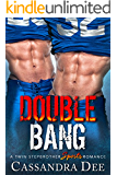 DOUBLE BANG: A Twin Stepbrother Sports Romance (with BONUS book Twin Stepbrothers Inflamed)