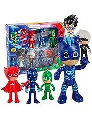 6pcs/set PJ masks Figure Set For kid Gift