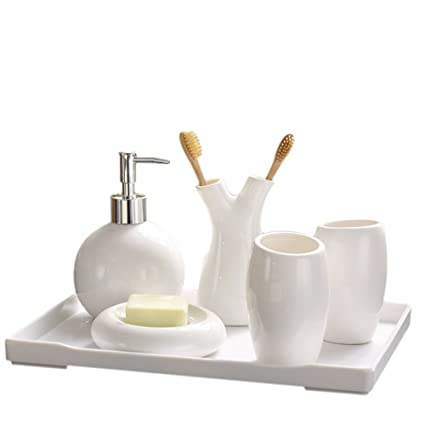 White Bathroom Accessories Set on white kitchen sets, white furniture sets, bath accessories collections sets, white bakeware sets, white comforters sets, white luggage sets, white bath accessories, white cookware sets, white cutlery sets, white bedroom sets, white curtains sets, white sheets sets, shower accessories sets,