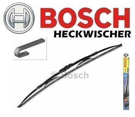 BOSCH H 772 HECK 340 - Limpiaparabrisas Escobilla Plana 2mm Servicio: Amazon.es: Coche y moto