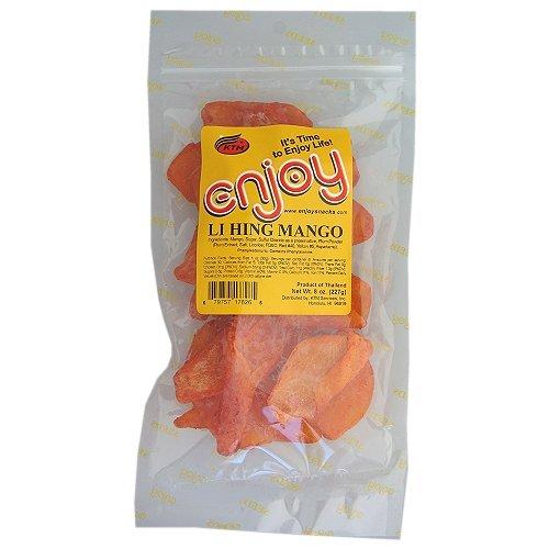 Li Hing Mango - Li Hing Mango 8 Oz Bag Enjoy Snacks of Hawaii