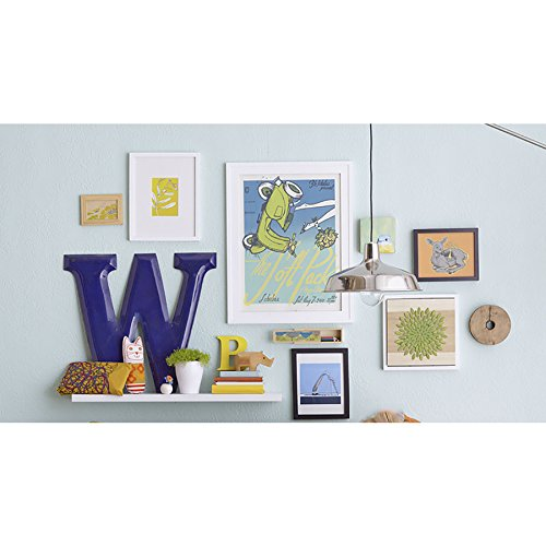 Style Selections 35.4-in W x 1.5-in H x 7.87-in D Wood Wall Mounted Shelving by Style Selections (Image #3)