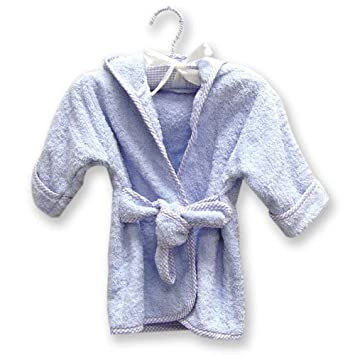 Trend Lab Infant Robe on Hanger White