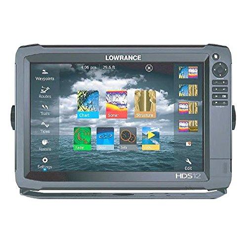 【LOWRANCE/ロランス】HDS-12 Gen3 Touch 全国簡易海図AT5付き 魚群探知機   B01GDND6L2