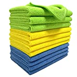 Polyte Microfiber Cleaning Cloth, 12 x 16 in, 12 Pack