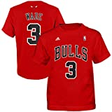 b896893a1 Chicago Bulls Kids Dwyane Wade Flat Player Name and Number T-Shirt - Red