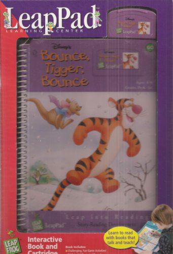 Bounce, Tigger, Bounce Leap Pad Interactive Book and Cartridge (Grades PreK-1st)) (Leap Into Reading) - Pooh Notepad