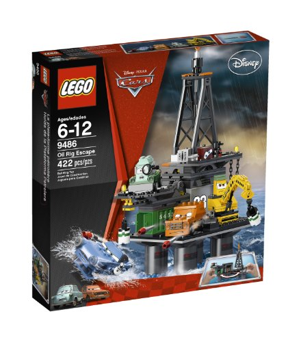 LEGO Cars Oil Rig Escape 9486, Baby & Kids Zone