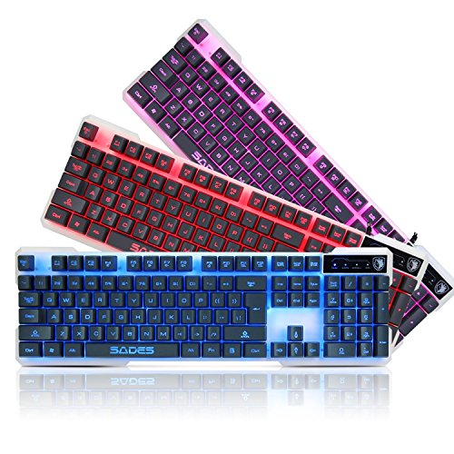 K7 Gaming Keyboard Adjustable Backlight