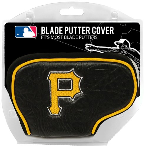 Team Golf MLB Pittsburgh Pirates Golf Club Blade Putter Headcover, Fits Most Blade Putters, Scotty Cameron, Taylormade, Odyssey, Titleist, Ping, Callaway ()