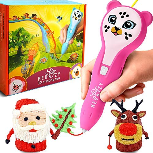 (3D Pen for Kids Girl Gifts - Girl Toys Art Set - Cool Birthday Gifts for Girls Boys Teen - Fun Educational Learning Toys for Girls Boys Kids - Best)