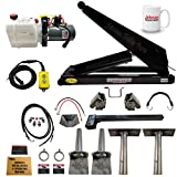 10 Ton (20,000 lb) Dump Trailer Hydraulic Scissor Hoist Kit | Model PH520 | Perfect for Dump Trucks & Trailers (Standard)