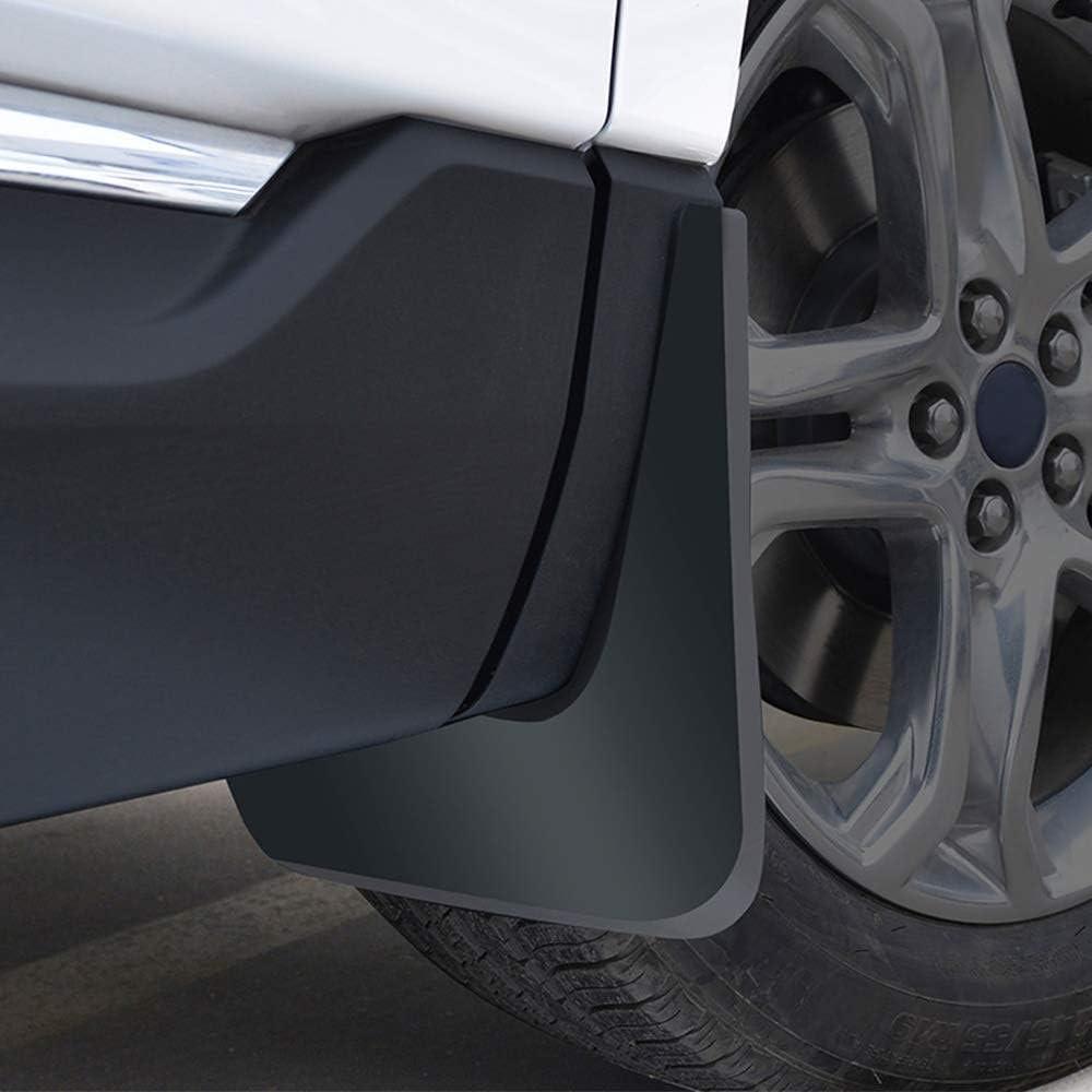 BTSDLXX 4 Pcs Set Auto Kotfl/ügel f/ür Peugeot 2008 SUV 2013-2017 Vorne Hinten Kotfl/ügelverbreiterungen Spritzschutz Gummi Schmutzf/änger Autozubeh/ör