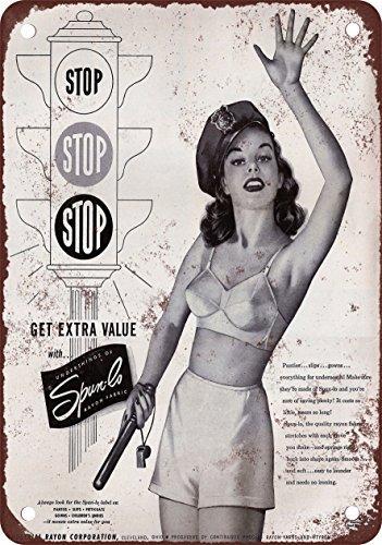 2b0ab7bd26e Amazon.com: 1950 Spun-Lo Rayon Ladies Underwear Vintage Look ...